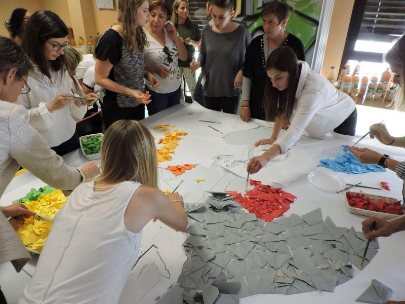 Team building Fresque Origami avec m[ART]melade - mARTmelade - photo#8