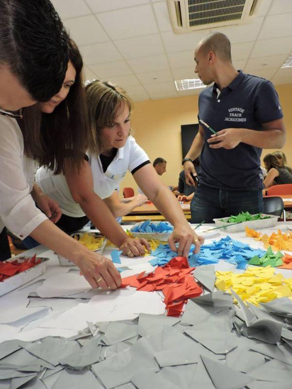 Team building Fresque Origami avec m[ART]melade - mARTmelade - photo#9