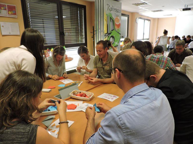 Team building Fresque Origami avec m[ART]melade - mARTmelade - photo#3